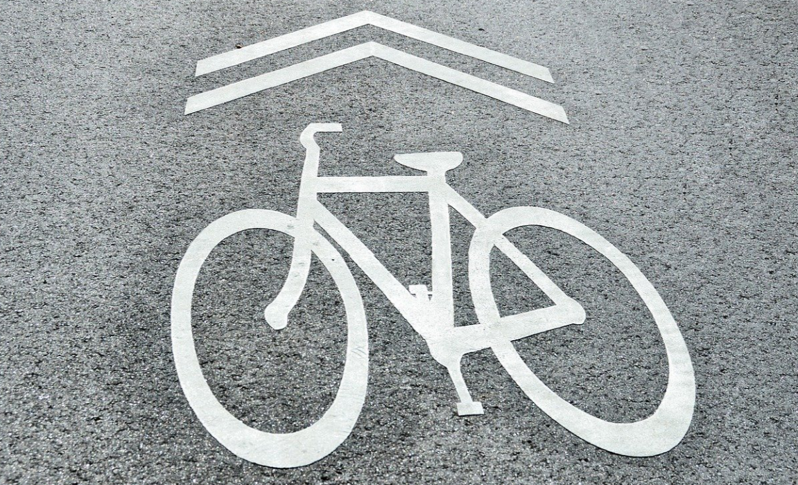 bike lane marker